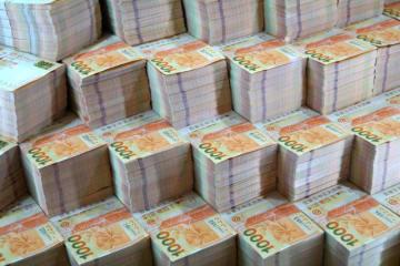 香港ドル紙幣のイメージ(資料写真)—本紙撮影