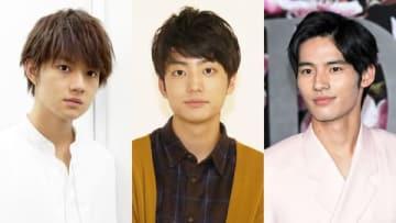(左から)佐野勇斗さん、伊藤健太郎さん、岡田健史さん、