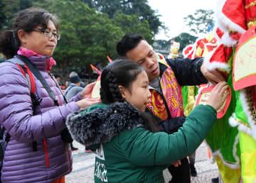 「世界竜舞·獅子舞の日inマカオ」イベント、マカオで開催