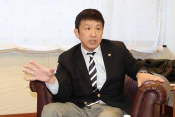 2019年の強化計画を語る西口茂樹・強化本部長