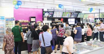ミニストップベトナムは12月28日、ホーチミン市1区の日本人街レタントン通りに新店舗をオープンした(同社提供)