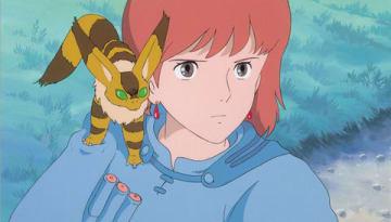 映画「風の谷のナウシカ」の場面写真 (C)1984 Studio Ghibli・H