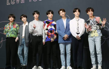 韓国の男性音楽グループ「BTS(防弾少年団)」(聯合=共同)