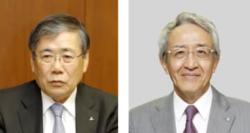 宮永俊一氏(左)、永野毅氏