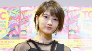 静岡市で開催された「2019 静岡市成人式」にサプライズで出席した若月佑美さん (C)TGC しずおか 2019×静岡市成人式
