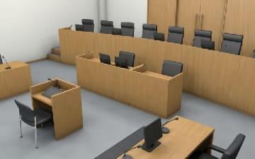 裁判員裁判用法廷(Dachs / PIXTA)