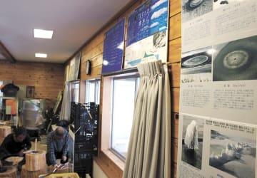 研究所は「雪博士」高橋さんの研究遺品を数多く収蔵する