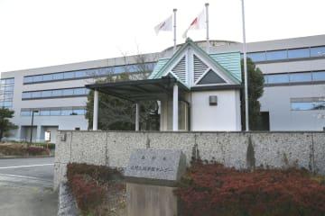 大村入国管理センター=2018年3月、長崎県大村市