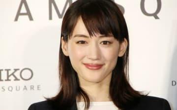 セイコーの新店舗「セイコードリームスクエア」のオープン記者発表会に登場した綾瀬はるかさん