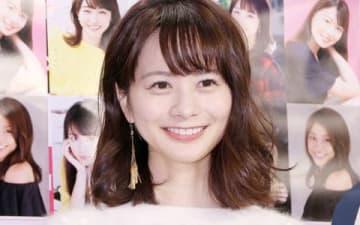 「セント・フォース オフィシャルカレンダー2019」の発売記念イベントに登場した高見侑里さん