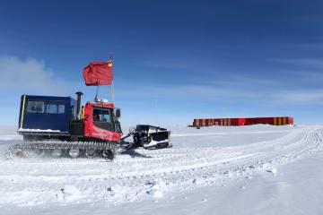 中国南極科学観測隊、崑崙基地に到着