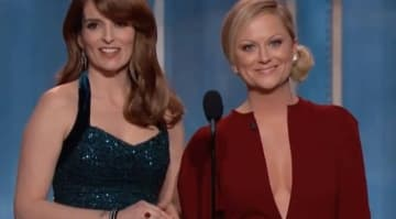 Tina Fey and Amy Poehler host the 2013 Golden Globes
