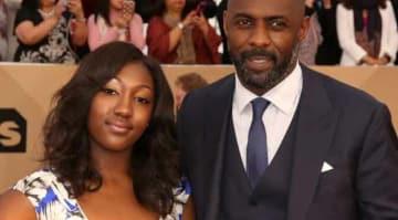 Isan Elba & Idris Elba