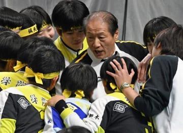 最後の春高バレーに臨んだ国学栃木の福田監督