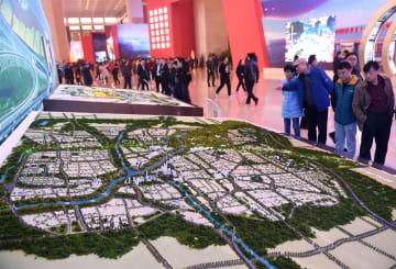 北京副都心、発展の美しい青写真を描き出す