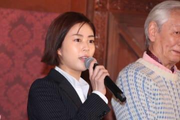 TBS系連続ドラマ「メゾン・ド・ポリス」で主演を務める高畑充希