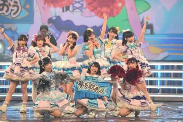「第69回NHK紅白歌合戦」のリハーサルに登場した「Aqours」
