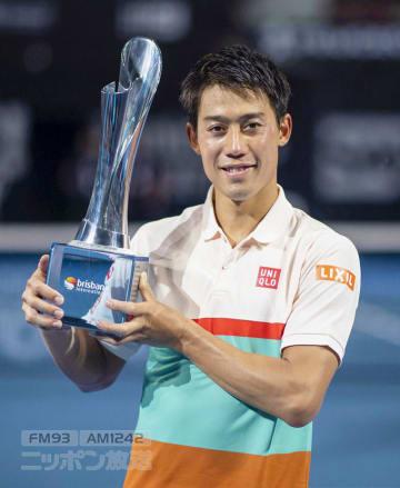 錦織圭 テニス 男子シングルス 優勝 メドヴェージェフ ブリスベン 世界ランク