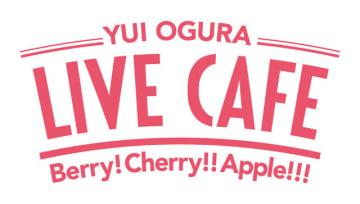 「小倉 唯 LIVE CAFE ~Berry! Cherry!! Apple!!!~」ロゴ