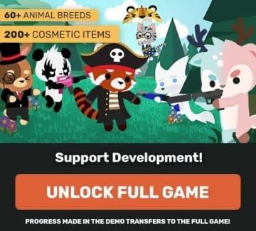 動物バトロワ『Super Animal Royale』オンライン対戦を楽しめるスーパーなデモ版がSteamで配信!【UPDATE】