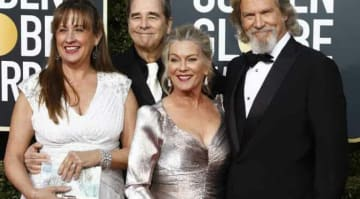 76th Golden Globe Awards Arrivals at the Beverly Hilton Hotel: Wendy Bridges, Beau Bridges, Susan Geston Jeff Bridges