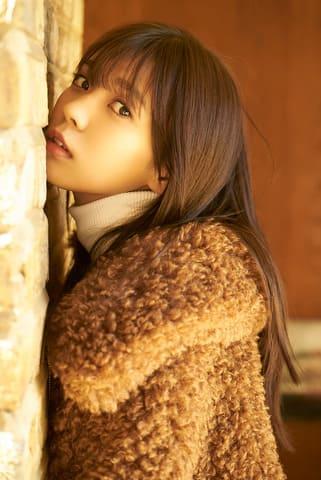 初の写真集を3月13日に発売する「欅坂46」の小林由依さん 撮影=鈴木心