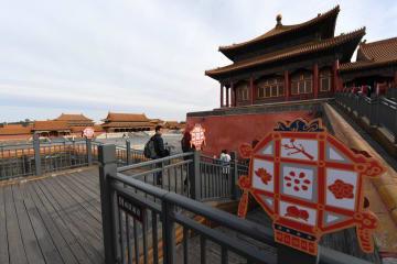 春節を紫禁城で過ごそう 北京市