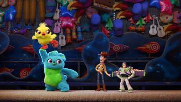 劇場版アニメ「トイ・ストーリー4」の一場面 (C)2019 Disney/Pixar. All Rights Reserved.