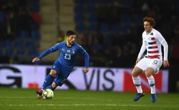 イタリア代表でもプレイするセンシ photo/Getty Images