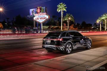 アウディのVRコンテンツと車の動きをリアルタイムで同期させる新技術