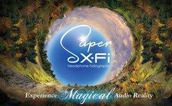 クリエイティブは、独自の補正技術「Super X-Fi」関連製品等を出展