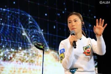 上田桃子が2季ぶりのツアー優勝を目指す(撮影:福田文平)