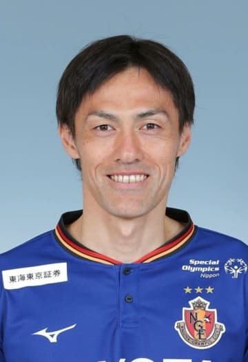 J1名古屋の楢崎正剛選手