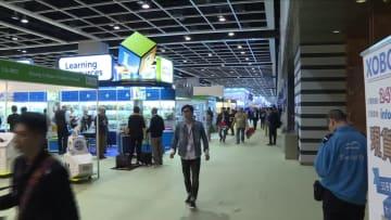 香港トイ&ゲームフェア開幕 スマート玩具や本物そっくりの玩具が人気