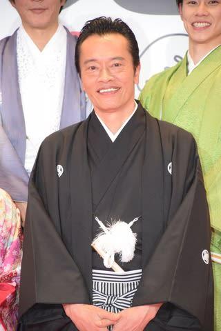 連続ドラマ「私のおじさん~WATAOJI~」の会見に出席した俳優の遠藤憲一さん