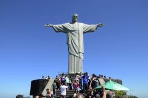 コルコバードの丘にある有名なキリスト像(Foto: Alexandre Macieira/Riotur)