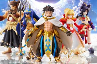 『FGO Duel』第4弾本日9日より発売開始!「オジマンディアス」「ニトクリス」らが参戦