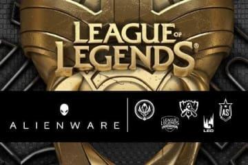 ALIENWAREがライアットゲームズ及び『LoL』とのe-Sportsパートナーシップを発表