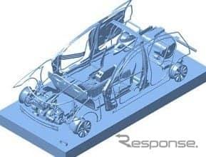 NSafe-オートコンセプトを適用した次世代自動車