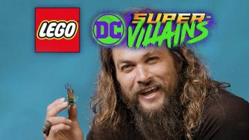 『レゴ DC スーパーヴィランズ』追加DLC「アクアマン バンドルパック」配信!アクアマン役俳優が紹介する映像も