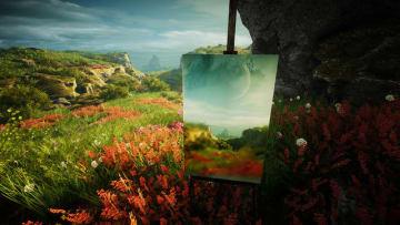 美しい風景をキャンバスに描くオープンワールドADV『Eastshade』配信日決定