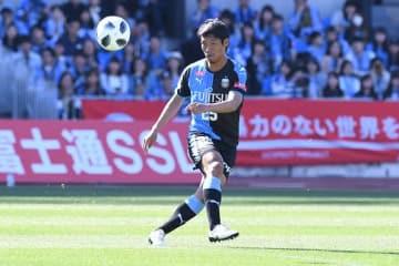 昨季、加入1年目ながら川崎のJ1連覇に貢献した守田 photo/Getty Images