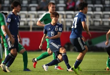 大迫の2ゴールもあり、なんとか勝利した日本 photo/Getty Images