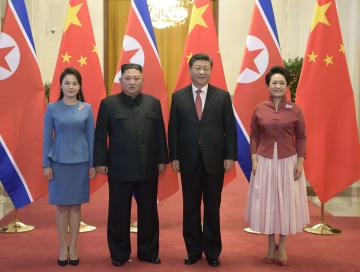 習近平氏、金正恩朝鮮労働党委員長と会談 重要な共通認識達成