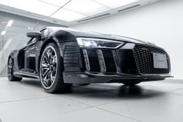 『FF15』とコラボした「The Audi R8 Star of Lucis」が「東京オートサロン2019」にて特別展示!オークション販売も実施