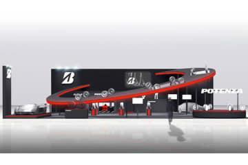ブリヂストン「東京オートサロン2019」に出展