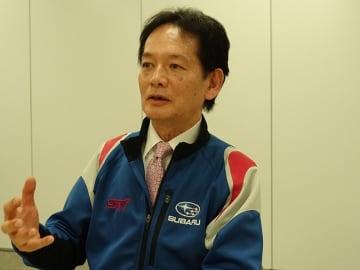 スバルテクニカインターナショナル(STI)の平川社長