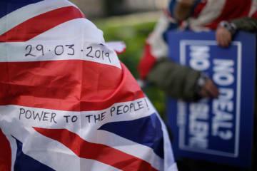 英議会、EU離脱案の投票を来週実施