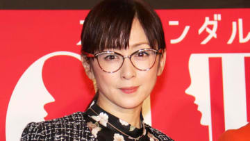 連続ドラマ「スキャンダル専門弁護士 QUEEN」の制作発表会見に出席した斉藤由貴さん