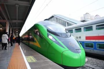 蘭州と重慶を結ぶ「復興号」、時速160キロで運行開始